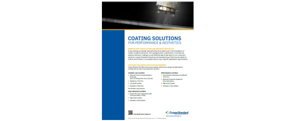 Coating Solutions Brochure
