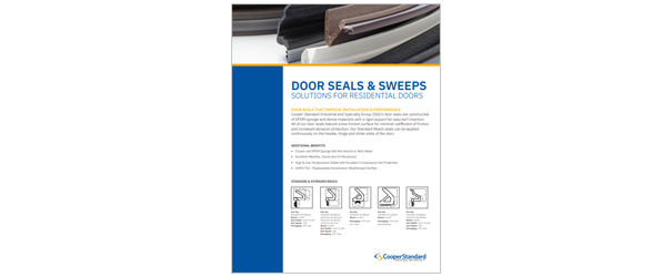 Door Seal Brochure